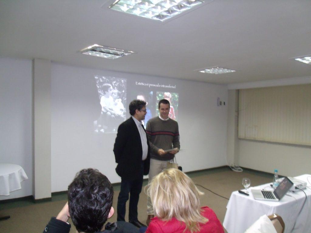 Prof. Alex Haas e Dr. Praxedes Souza